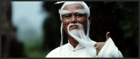 Pei Mei flippin' the beard.
