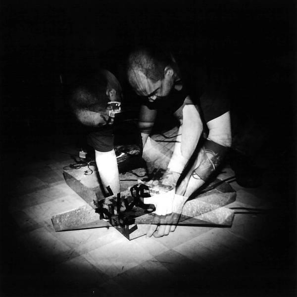 Jon Silpayamanant performing as Noiseman433 at the Lemp Neighborhood Arts Center in St. Louis, MO (May 9, 2003)