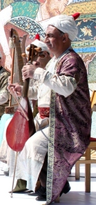 Chaganeh player in Azerbaijan