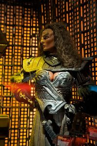 Klingon Female Model from a Las Vegas Star Trek Exhibit