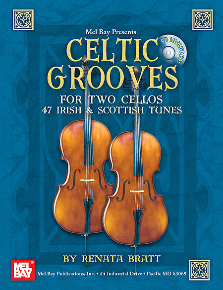 Mel Bay - Celtic Groove for cello duet