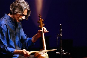 Kayhan Kalhor playing the Persian kamancheh