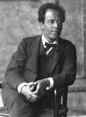 Gustav Mahler (July 1860 – 18 May 1911)