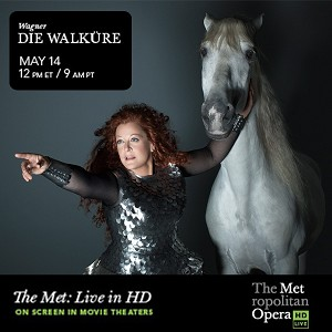 "The Met's ""Die Walküre"" by Richard Wagner, now showing at your local movie theatre!"