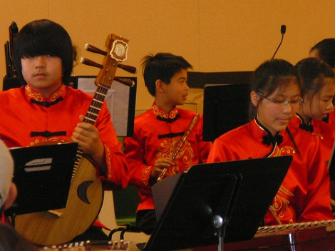 The San José based Firebird Youth Chinese Orchestra is one of several Chinese Youth Symphonies in the US
