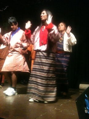 Nepali-Bhutanese dance at the Terrabeat Cultural Showcase in Louisville (August 5, 2011)