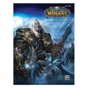 "Original sheet music edition of ""World of Warcraft: Wrath of the Lich King"" by Alfred Music Publishing"