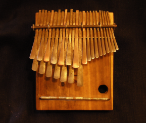 The mbira is a thumb piano found in the music of Eastter and Southern Africa