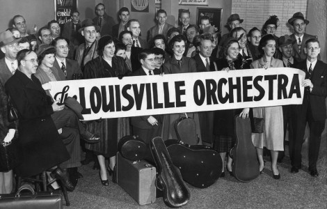 "Image/still from ""Music Makes a City"" documentary about the Louisville Orchestra"
