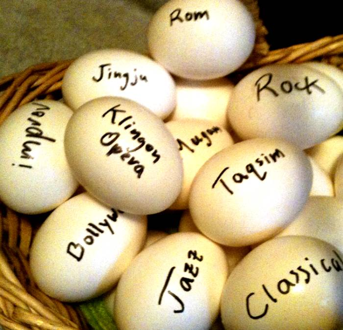 I like to put all my eggs in one basket. Good thing I have plenty of odd eggs, right?