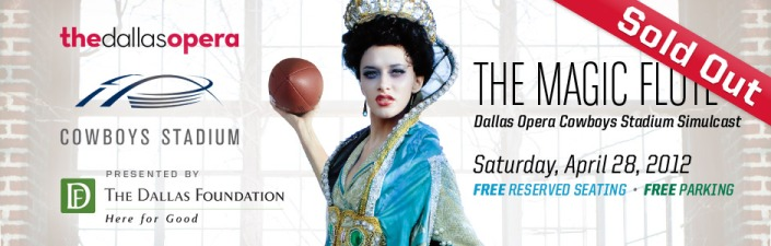 The Dallas Opera at the Cowboy Stadium!