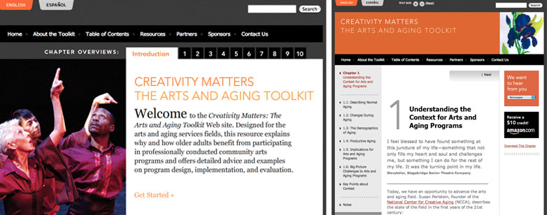 Creativity Matters: The Arts and Aging Toolkit