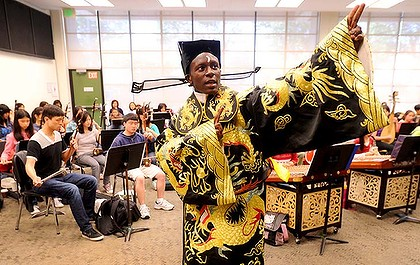 Tyler Thompson, 15, is a standout student in the Oakland-based Purple Silk Music Education program, which teaches children and youth - mostly from low-income immigrant families — how to sing and play traditional Chinese music.  More info here: http://malaysiafinance.blogspot.com/2011/07/how-cool-is-this.html