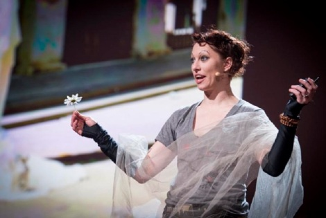 "Amanda Palmer's TED talk, ""The Art of Asking"""