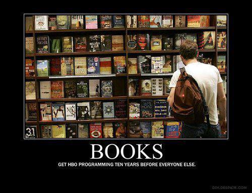 Books: Get HBO programming 10 years before everyone else