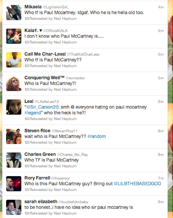 Who is Paul McCartney?