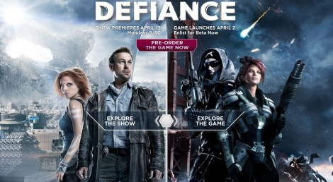 Defiance is both a television series and video game set in the same post-apocalyptic world