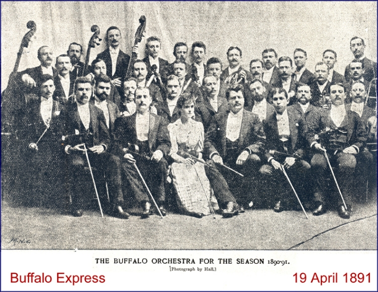 The Buffalo Orchestra in 1891