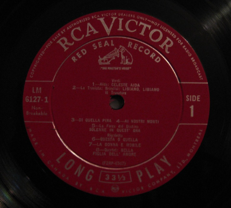 Caruso-RCA-label