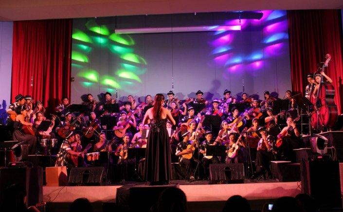 Harmonya, the String Ensemble of  University of the Philippines Los Baños explores classical and contemporary music as well as traditional folk music from the Philippines