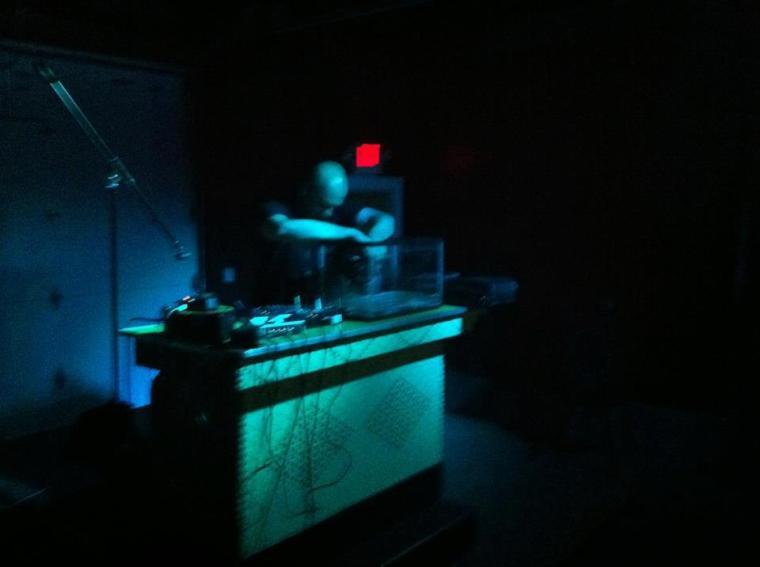 Noiseman433 at the Louisville Experimental Festival on 29 June 2012. Haymarket Whiskey Bar in Louisville, Kentucky