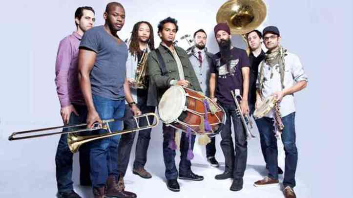 Red Baraat is probably the first American Bhangra Big Band!