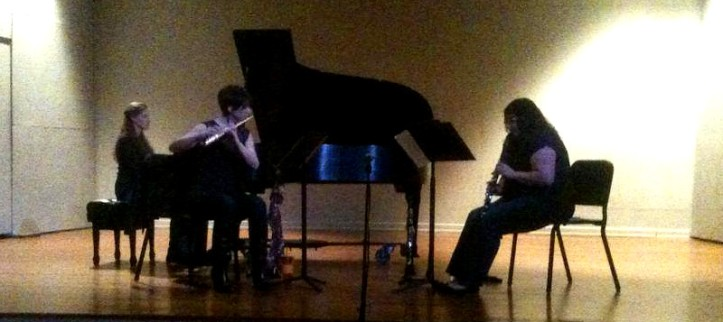 A/tonal performing at the Steifler Recital Hall at IU Southeast in New Albany, IN. March 1, 2014