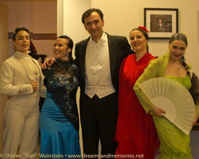 Carmela Greco, Maria Juncal, La Truco, and Pepa Molina