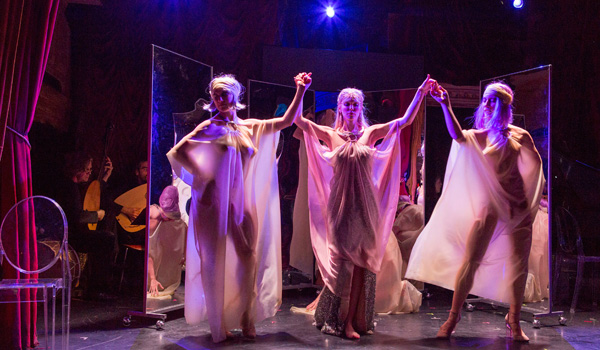Gotham Chamber Opera's performance of the U.S. Premiere Of Francesco Cavalli's 'Eliogabalo' Burlesque Opera
