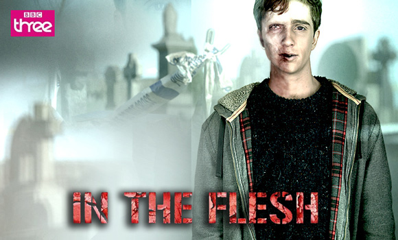 """In The Flesh"" is a Zombie TV show about rehabilitated zombies who get treatments for PDS (Partially Dead Syndrome)."