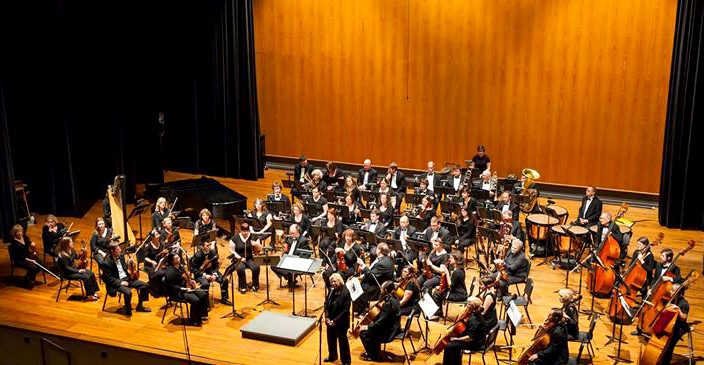IU Southeast Orchestra in the Stem Concert Hall at the Ogle Center (2013)