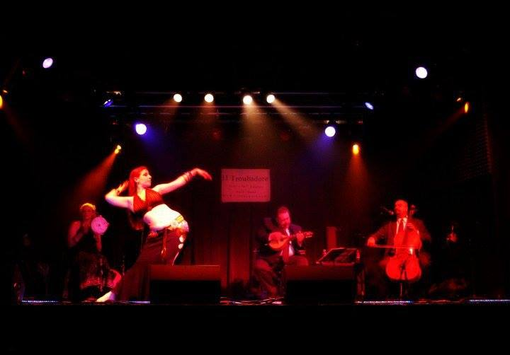 Me performing with il Troubadore at the Rex Theater (a 587 capacity club in Pittsburgh, Pennsylvania)
